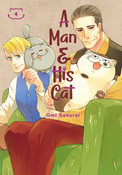A Man and His Cat Manga Volume 4