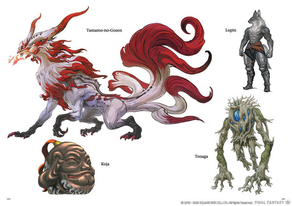 Final Fantasy XIV Stormblood The Art of the Revolution Western Memories Artbook