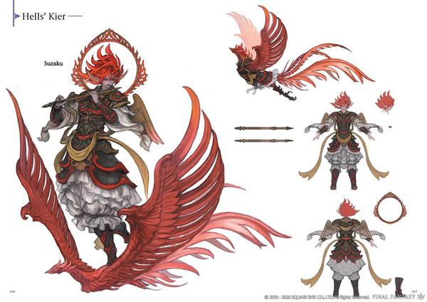 Final Fantasy XIV Stormblood The Art of the Revolution Eastern Memories Artbook