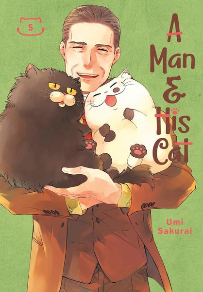 A Man and His Cat Manga Volume 5