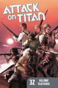 Attack on Titan Manga Volume 32