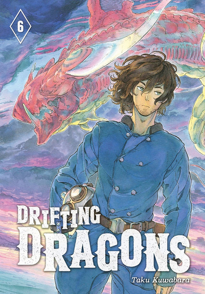 Drifting Dragons Manga Volume 6