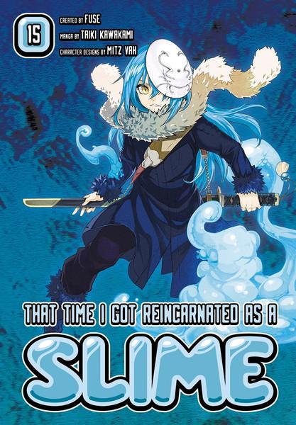 That Time I Got Reincarnated as a Slime Manga Volume 15
