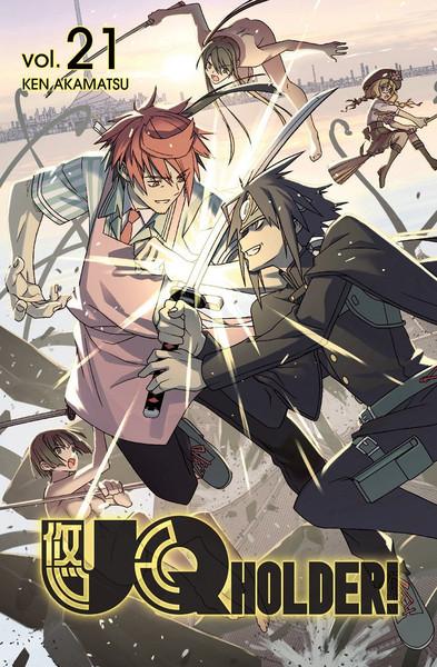 UQ Holder! Manga Volume 21