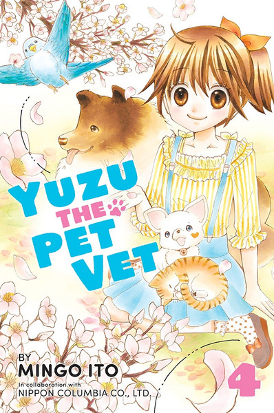 Yuzu the Pet Vet Manga Volume 4