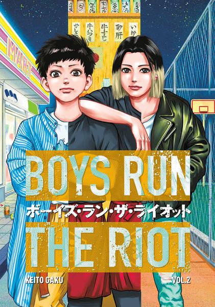 Boys Run the Riot Manga Volume 2