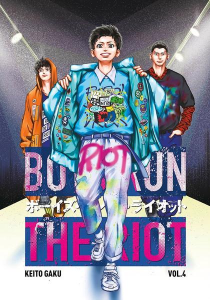 Boys Run the Riot Manga Volume 4