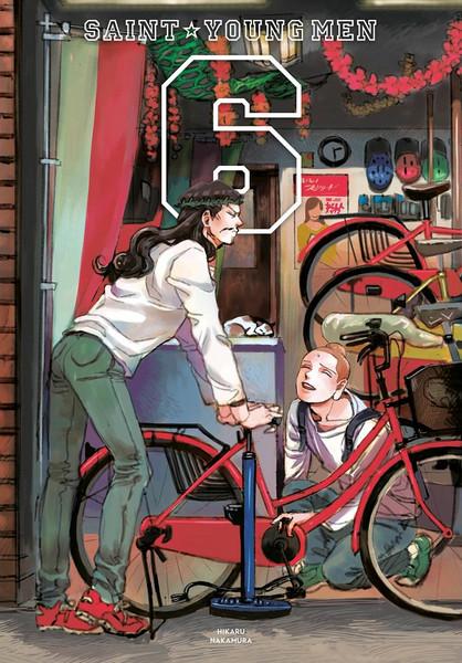 Saint Young Men Manga Omnibus Volume 6 (Hardcover)