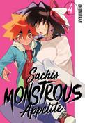 Sachi's Monstrous Appetite Manga Volume 4