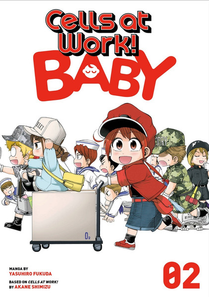 Cells at Work! Baby Manga Volume 2