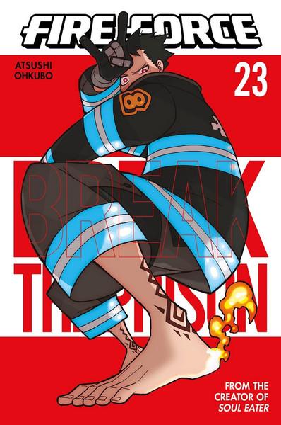 Fire Force Manga Volume 23