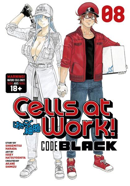 Cells at Work! Code Black Manga Volume 8
