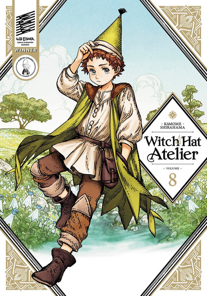 Witch Hat Atelier Manga Volume 8