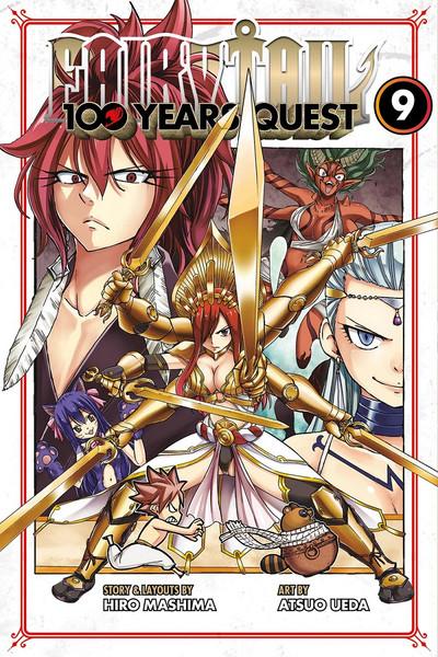 Fairy Tail 100 Years Quest Manga Volume 9