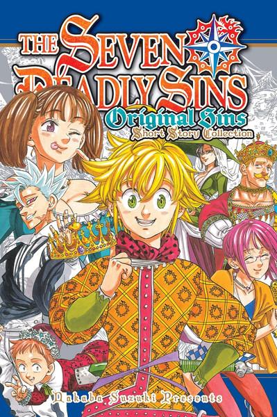 The Seven Deadly Sins Original Sins Short Story Collection Manga