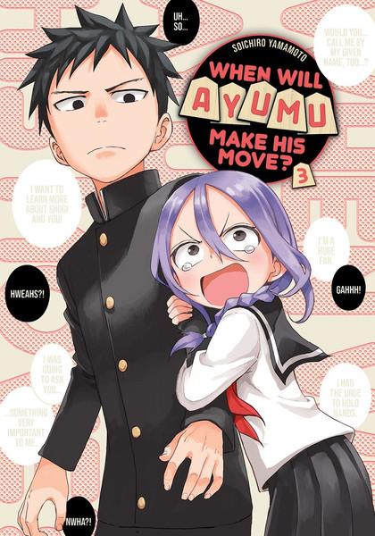 When Will Ayumu Make His Move? Manga Volume 3