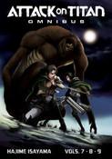 Attack on Titan Manga Omnibus Volume 3
