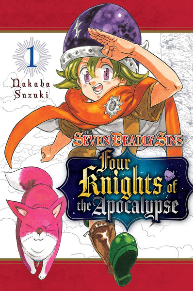 The Seven Deadly Sins Four Knights of the Apocalypse Manga Volume 1