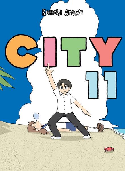 CITY Manga Volume 11