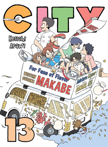 CITY Manga Volume 13