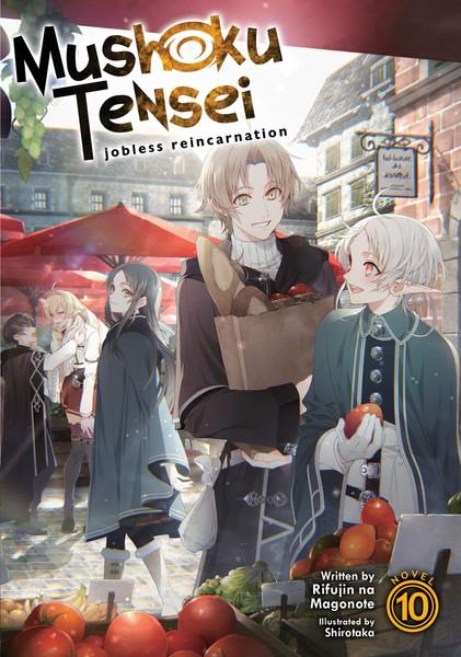 Mushoku Tensei Jobless Reincarnation Novel Volume 10