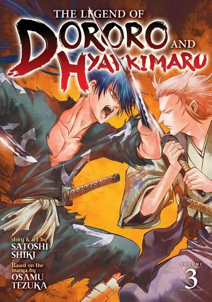 The Legend of Dororo and Hyakkimaru Manga Volume 3