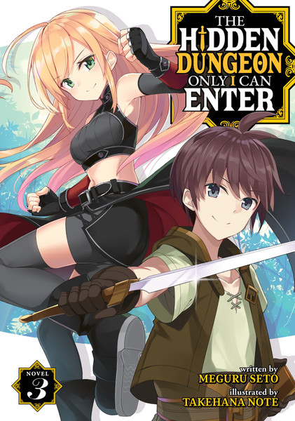 The Hidden Dungeon Only I Can Enter Novel Volume 3