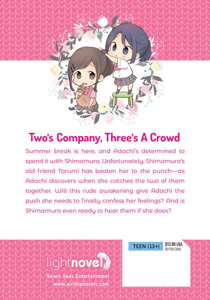 Adachi and Shimamura Novel Volume 5