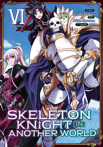 Skeleton Knight in Another World Manga Volume 6