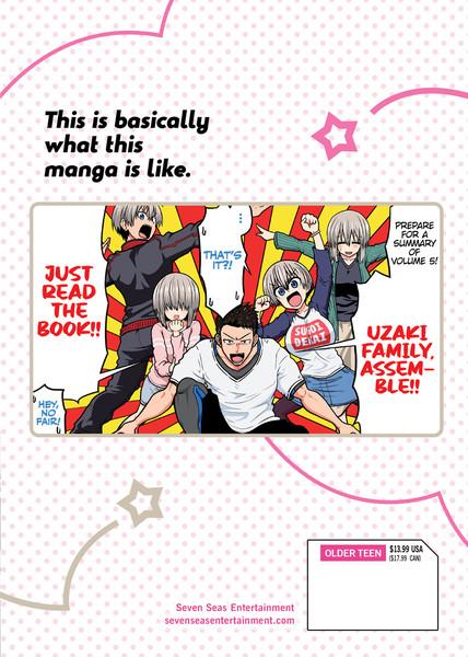 Uzaki-Chan Wants to Hang Out! Manga Volume 5