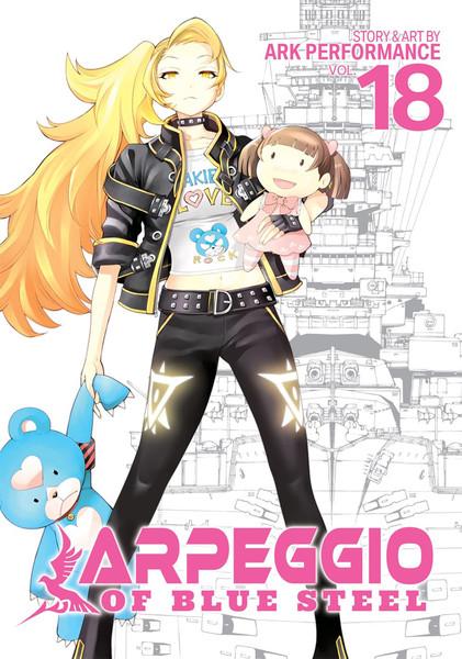 Arpeggio of Blue Steel Manga Volume 18