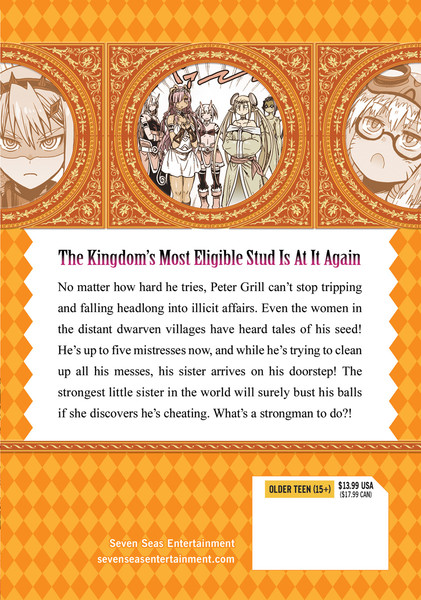 Peter Grill and the Philosopher's Time Manga Volume 5