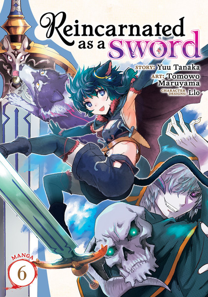Reincarnated as a Sword Manga Volume 6