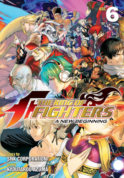 The King of Fighters A New Beginning Manga Volume 6