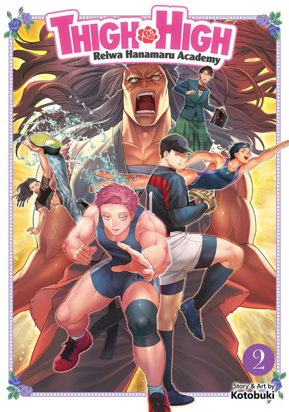 Thigh High Reiwa Hanamaru Academy Manga Volume 2