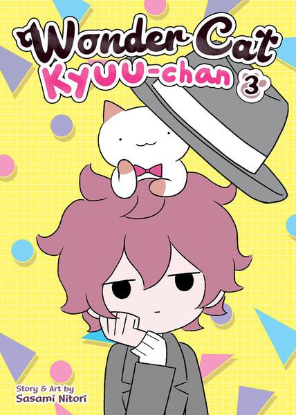 Wonder Cat Kyuu-chan Manga Volume 3 (Color)