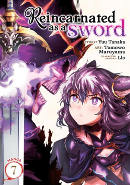 Reincarnated as a Sword Manga Volume 7