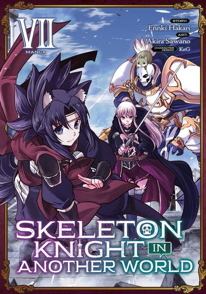 Skeleton Knight in Another World Manga Volume 7