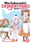 Miss Kobayashi's Dragon Maid Kanna's Daily Life Manga Volume 9