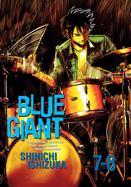 Blue Giant Manga Omnibus Volume 4