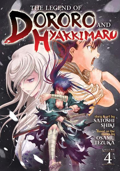 The Legend of Dororo and Hyakkimaru Manga Volume 4