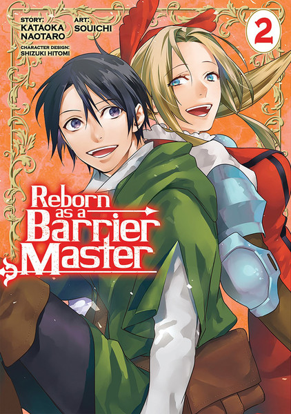 Reborn as a Barrier Master Manga Volume 2