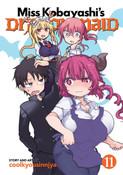 Miss Kobayashi's Dragon Maid Manga Volume 11