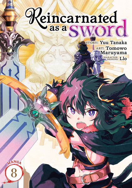 Reincarnated as a Sword Manga Volume 8