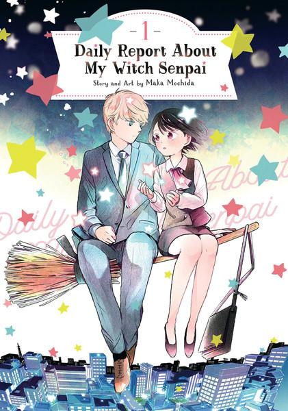 Daily Report About My Witch Senpai Manga Volume 1