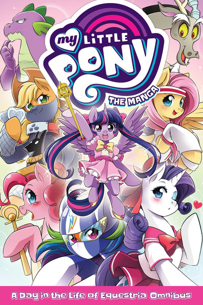 My Little Pony A Day in the Life of Equestria Manga Omnibus
