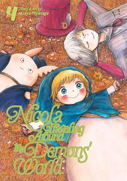 Nicola Traveling Around the Demons' World Manga Volume 4