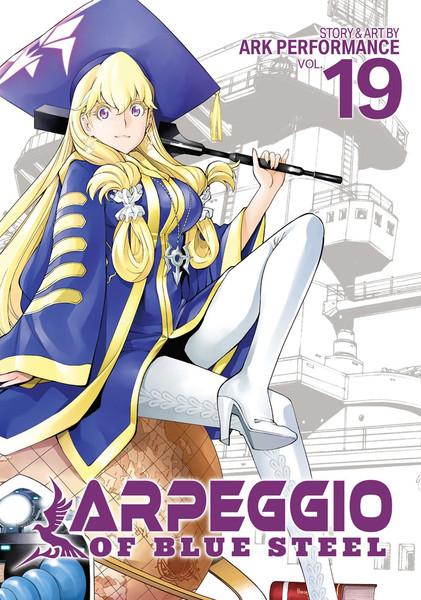 Arpeggio of Blue Steel Manga Volume 19