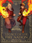 Avatar The Last Airbender Legacy of the Fire Nation (Hardcover)