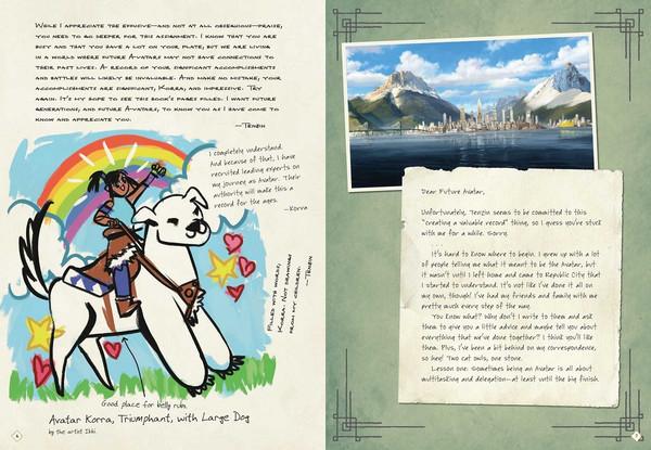The Legend of Korra An Avatar's Chronicle (Hardcover)